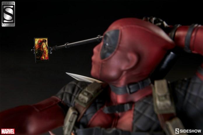 marvel-deadpool-heat-seeker-premium-format-feature-3005111-05 Figurine - Deadpool Heat-Seeker