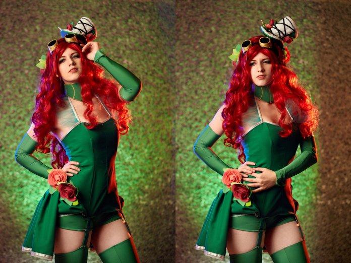 poison_ivy_cosplay_by_kawaielli-dajvjwo Cosplay - Poison Ivy Steampunk #135