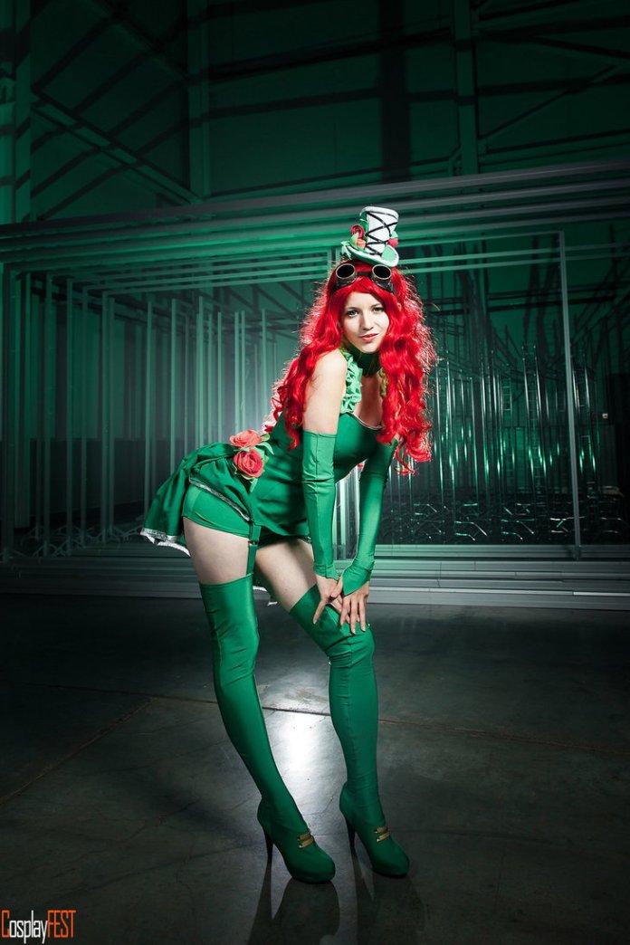 poison_ivy_cosplay_by_kawaielli-dakynbx Cosplay - Poison Ivy Steampunk #135