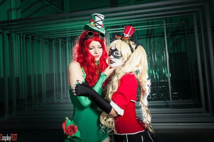 poison_ivy_cosplay_by_kawaielli-daolfbu Cosplay - Poison Ivy Steampunk #135