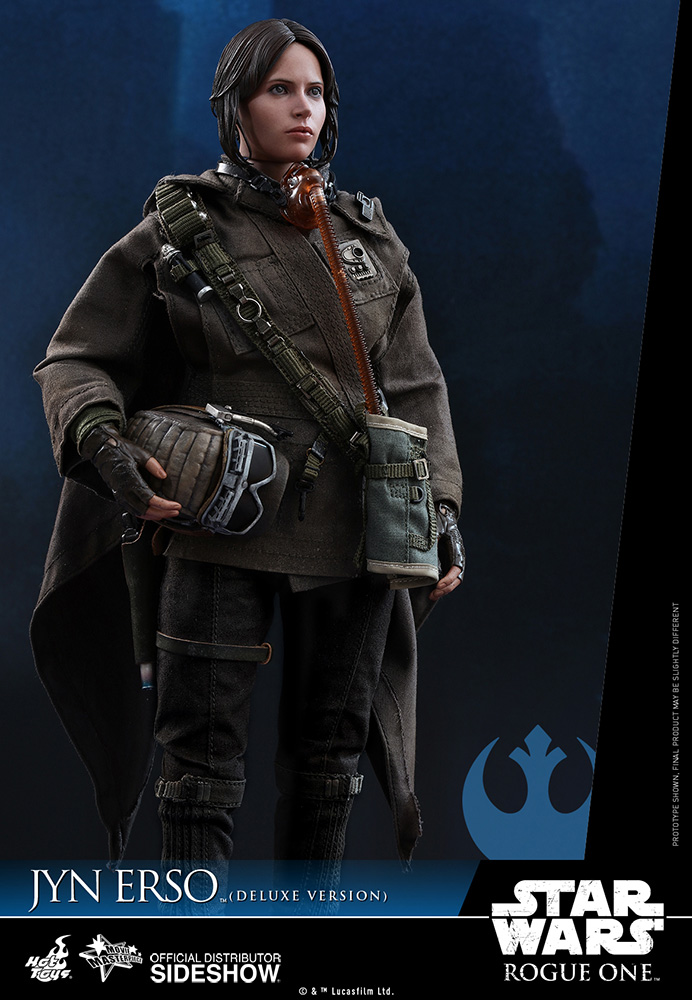 star-wars-rogue-one-jyn-erso-deluxe-version-sixth-scale-hot-toys-902919-06 Figurine - Star Wars Rogue One Jyn Erso Deluxe
