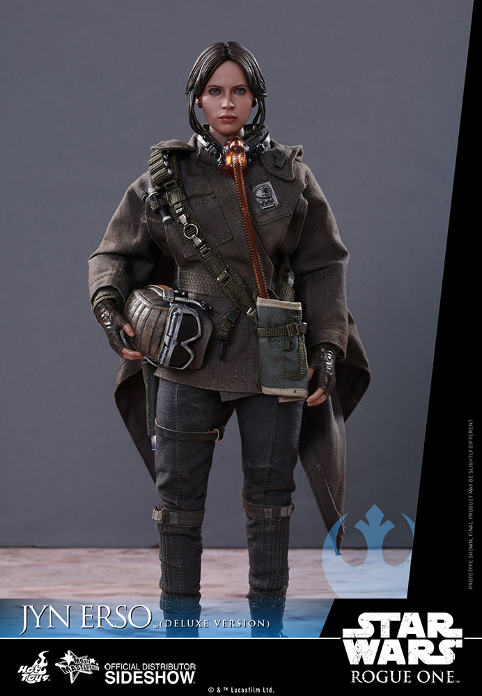 star-wars-rogue-one-jyn-erso-deluxe-version-sixth-scale-hot-toys-902919-08 Figurine - Star Wars Rogue One Jyn Erso Deluxe