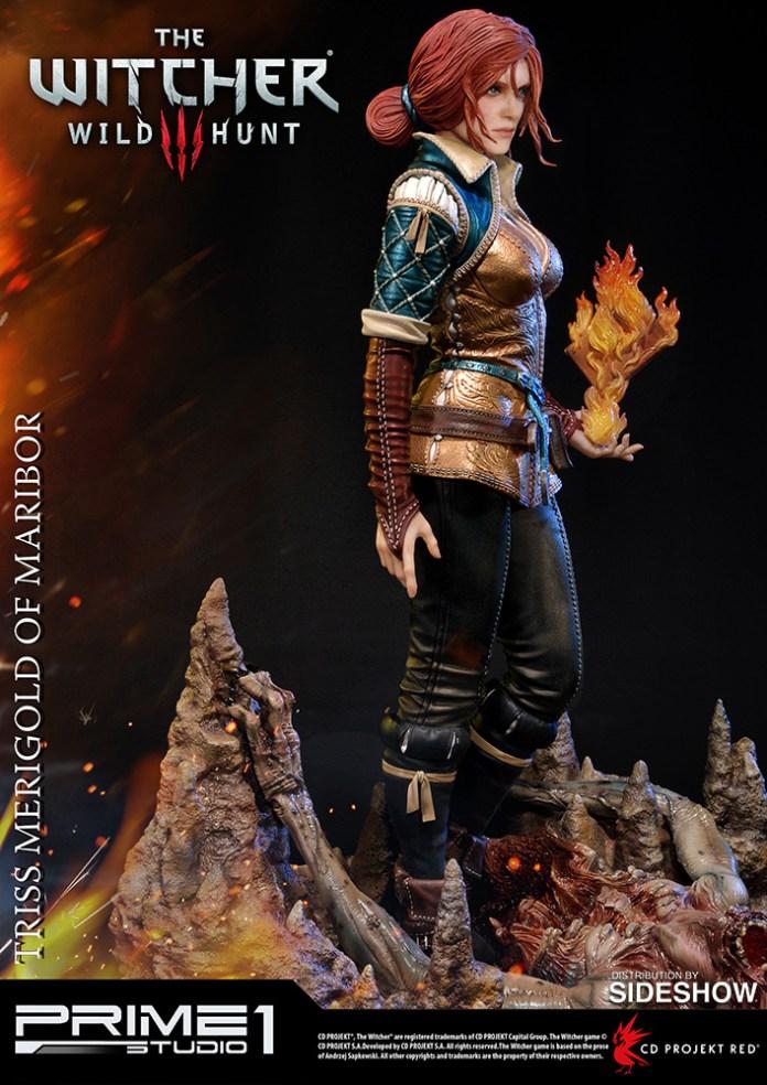 the-witcher-3-wild-hunt-triss-merigold-of-maribor-statue-prime1-902921-03 Figurine - Triss Merigold par Prime1