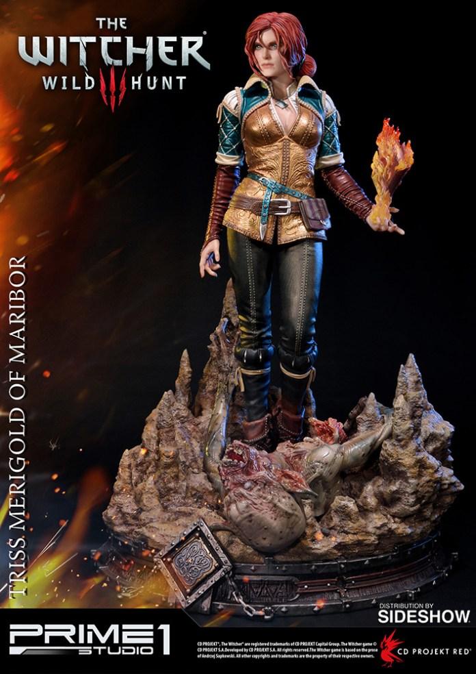 the-witcher-3-wild-hunt-triss-merigold-of-maribor-statue-prime1-902921-06 Figurine - Triss Merigold par Prime1