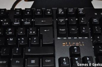 clavier_allreli_DSC_0169 Test du clavier mécanique K643 de Allreli