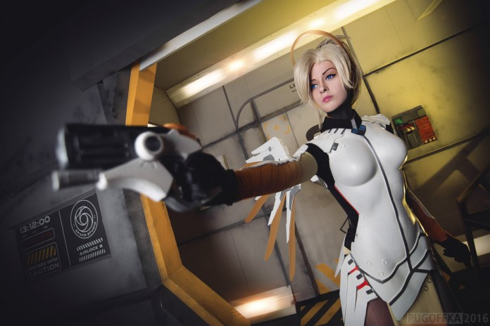tumblr_okaww0bWpt1r5udeko5_1280 Cosplay - Overwatch - Mercy #142