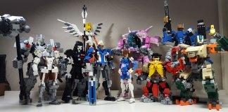 Figurine lego overwatch
