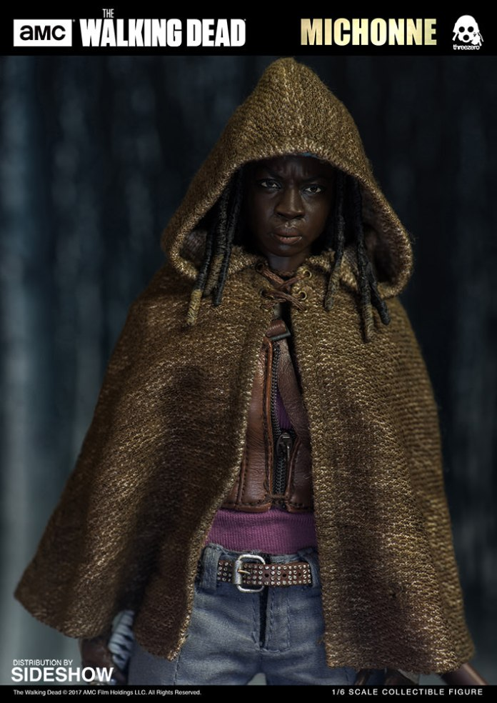 amc-the-walking-dead-michonne-sixth-scale-threezero-902991-02 Figurine - The Walking Dead - Michonne et ses rôdeurs