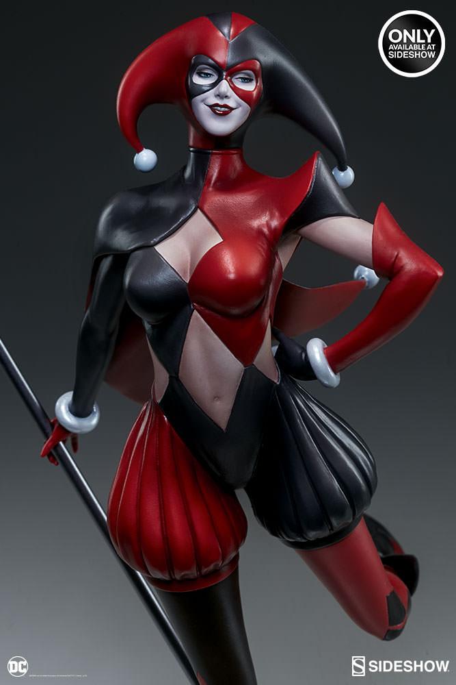 dc-comics-harley-quinn-stanley-artgerm-lau-artist-series-statue-200430-12 Figurines - Harley Quinn - Catwoman et Poison Ivy vues par Artgerm