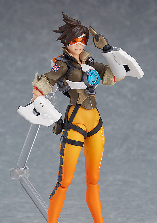 Figurine-tracer-overwatch-6 OverWatch - Une figurine Figma Tracer par Good Smile Company