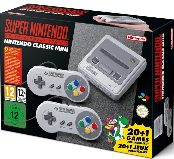 super-nes-classique Super NES Classic Edition arrive le 29 septembre avec 21 jeux