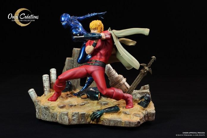 cobra-the-space-pirate_002-696x464 Oniri Créations et sa magnifique figurine Cobra