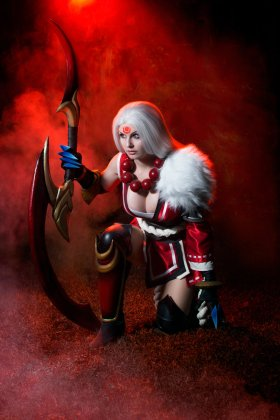 Bloodmoon-Diana-League-of-Legends-by-Kinpatsu-Cosplay MICM 2018 - Présentation de Kinpatsu Cosplay (Magic 2018) #1