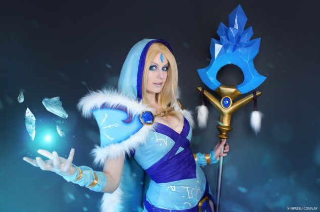 Crystal-Maiden-Dota-2-by-Kinpatsu-Cosplay MICM 2018 - Présentation de Kinpatsu Cosplay (Magic 2018) #1