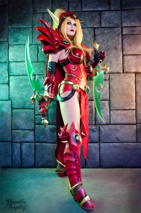 Valeera-Sanguinar-by-Kinpatsu-Cosplay MICM 2018 - Présentation de Kinpatsu Cosplay (Magic 2018) #1