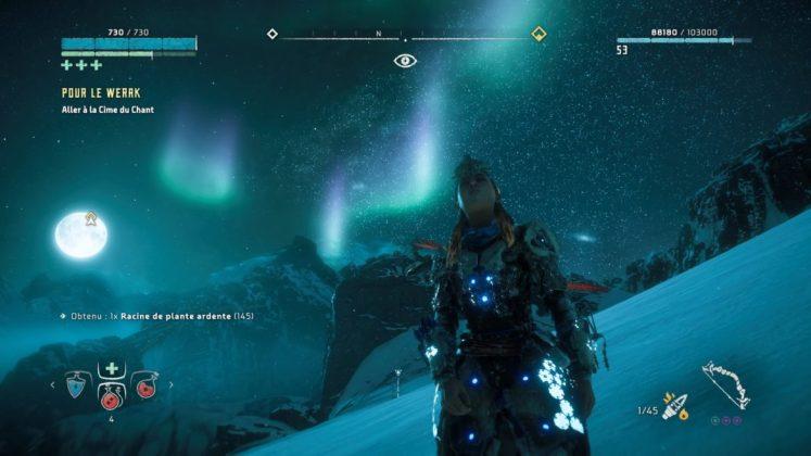 Horizon-Zero-Dawn-The-Frozen-Wilds-Aurore-BorC3A9al The Frozen Wilds - Mon avis sur l'extension de Horizon Zero Dawn