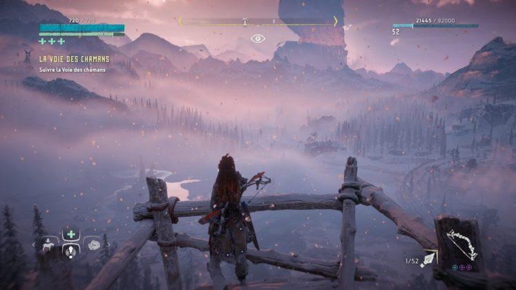 Horizon-Zero-Dawn-The-Frozen-Wilds-Panorama The Frozen Wilds - Mon avis sur l'extension de Horizon Zero Dawn