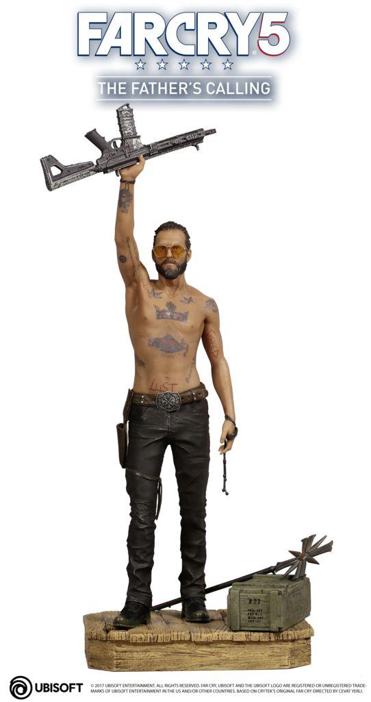 FC5_PICTURE_JOSEPH-FIGURINE_UBICOLLECTIBLES_1_1515517257_542x1024 Figurine - Far Cry 5 - Une figurine collector de Joseph