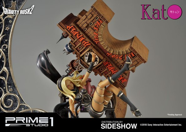 gravity-rush2-kat-statue-prime1-studio-903495-41 Figurine - Kat de Gravity Rush par Prime 1
