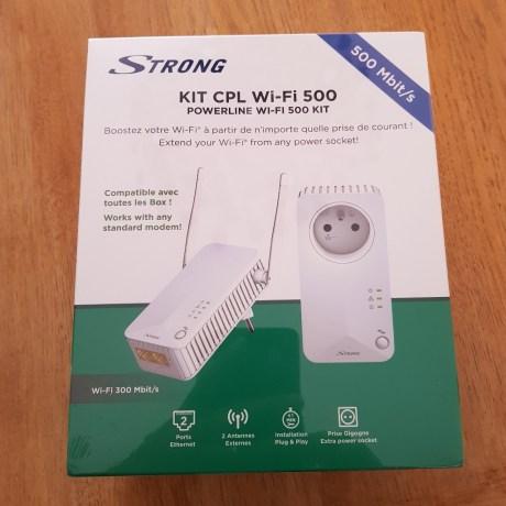 wp-1529218276450. Présentation du kit CPL Wifi 500 de Strong