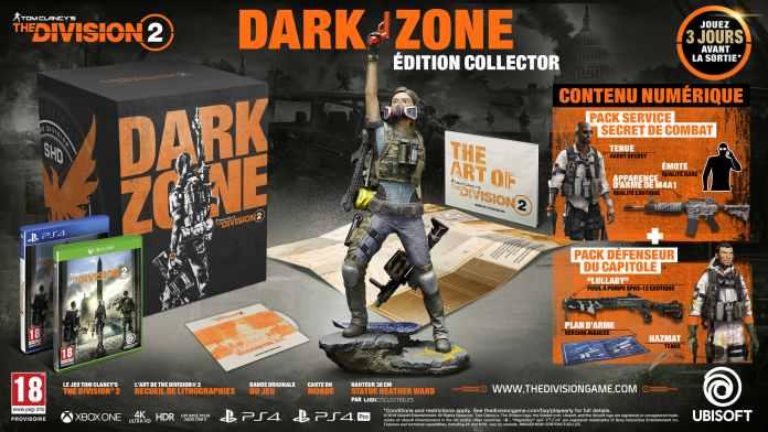 tctd2_mockup_dark_zone-696x392 The Division 2 - les éditions spéciales et collectors