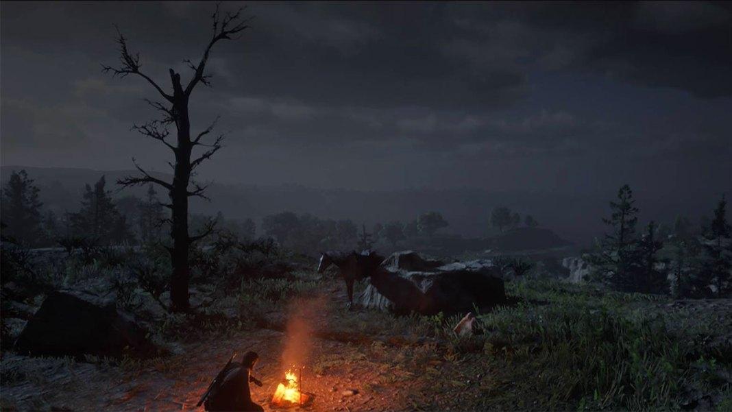 feu_camp2_vue Mon avis sur Red Dead Redemption II - Paré pour la grande épopée ?