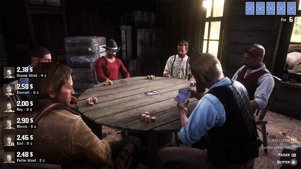poker_vue1 Mon avis sur Red Dead Redemption II - Paré pour la grande épopée ?