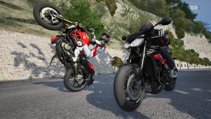 moto_cabrage1 Mon avis sur Ride 3 - Un opus fracassant, enfin !