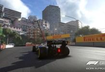 F1 2019 Comparaison Monaco 2018