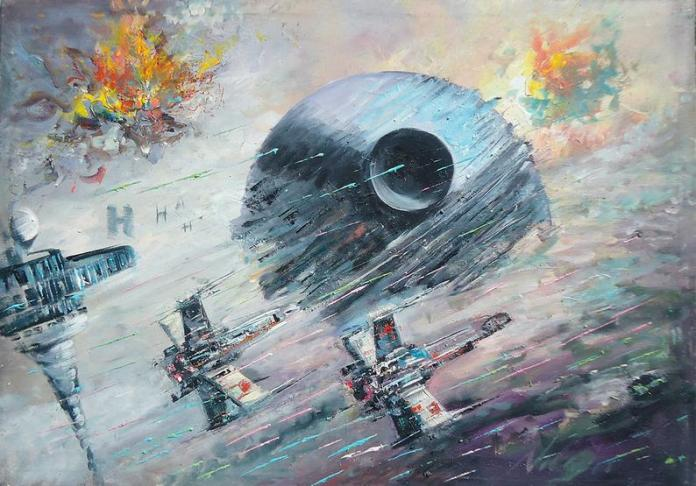 star-wars-paintings-01 May The 4th Be With You