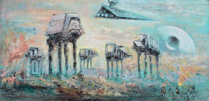 star-wars-paintings-06 May The 4th Be With You