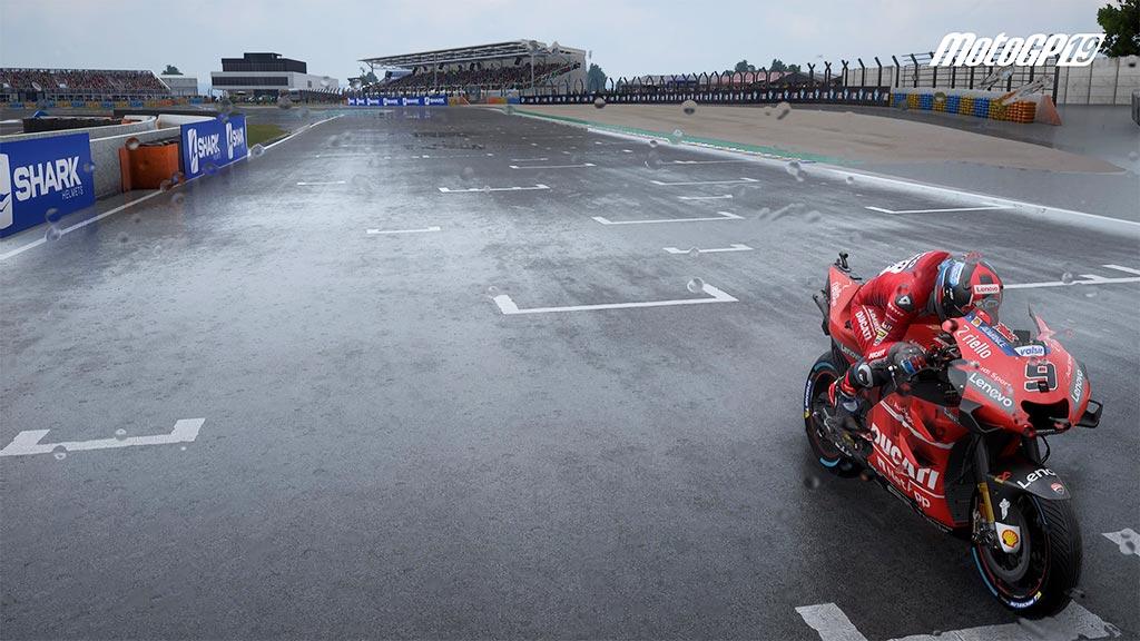 MotoGPPluie Mon avis sur Moto GP 19 - Faisons brûler la gomme !