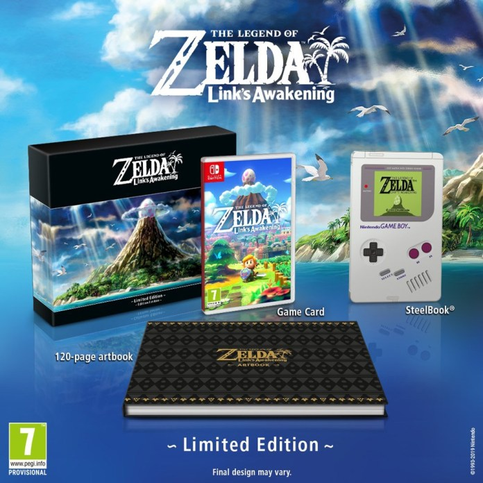 collector-Zelda-Links-Awakening-2 The Legend of Zelda : Link's Awakening - L'édition collector