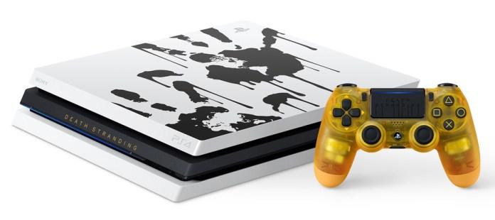 ps4-collector-death-stranding Une PS4 Pro Collector aux couleurs de Death Stranding