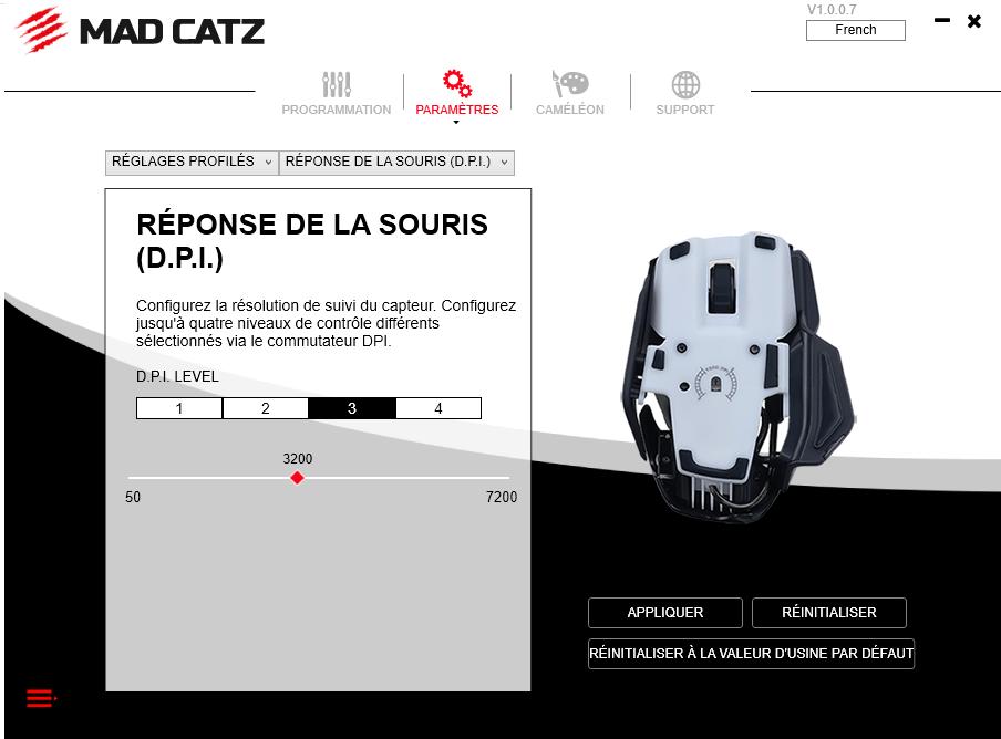 image-1 Présentation de la souris gaming R.A.T 4+ de Madcatz