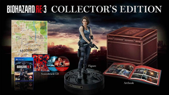 dition-collector-FR-remake-resident-evil-3 Un collector pour le remake de Resident Evil 3