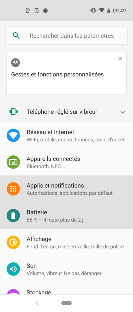 Screenshot_20200119-094951-439x1024 Présentation du Motorola Action