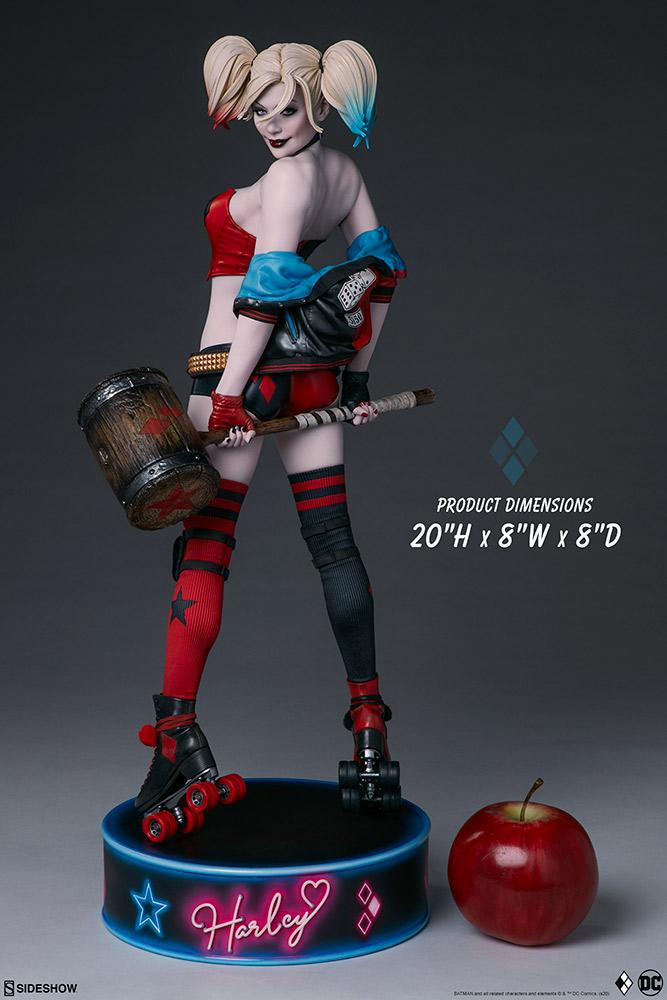 harley-quinn-hell-on-wheels_dc-comics_gallery_5e30bbae4836d Figurine - Harley Quinn en roller par SideShow