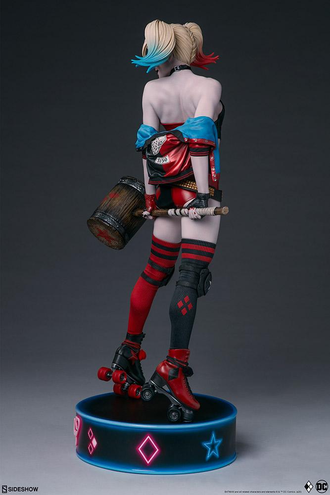 harley-quinn-hell-on-wheels_dc-comics_gallery_5e30bbaede7b8 Figurine - Harley Quinn en roller par SideShow