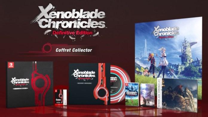 Un-coffret-collector-pour-Xenoblade-Chronicles-Definitive-Edition Xenoblade Chronicles Definitive Edition arrive sur Switch avec un Collector