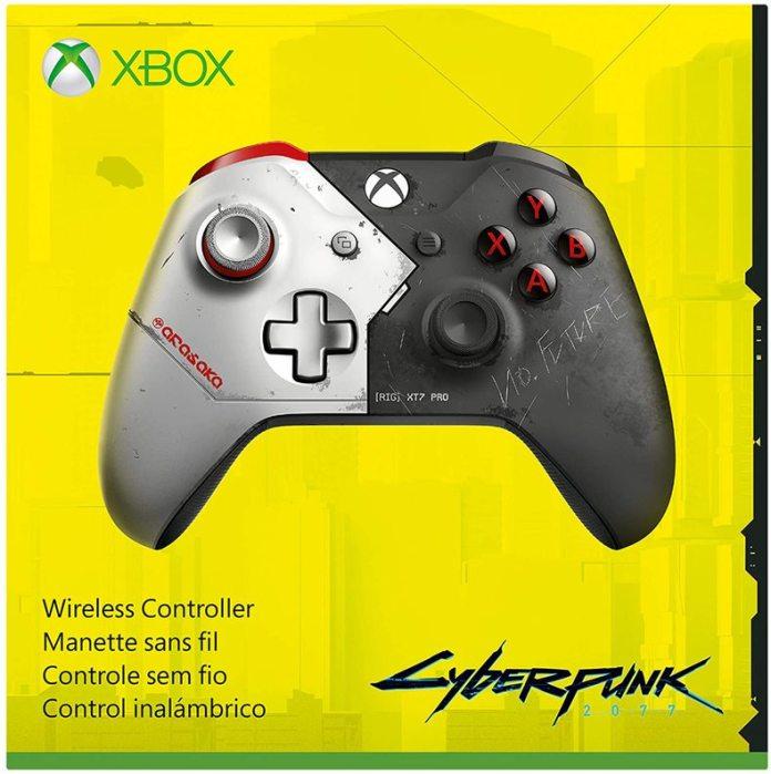 manette-xbox-one-cyberpunk-2077-5ce2a Premier aperçu de la manette Xbox de Cyberpunk 2077 - Préco Ouvertes