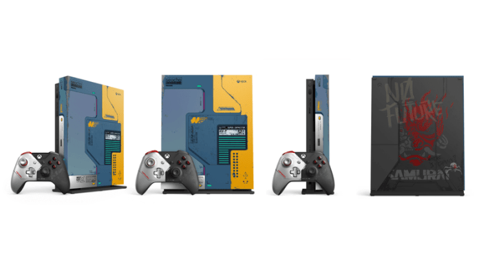 xbox-one-x-cyberpunk-1e7ee Premier aperçu de la manette Xbox de Cyberpunk 2077 - Préco Ouvertes