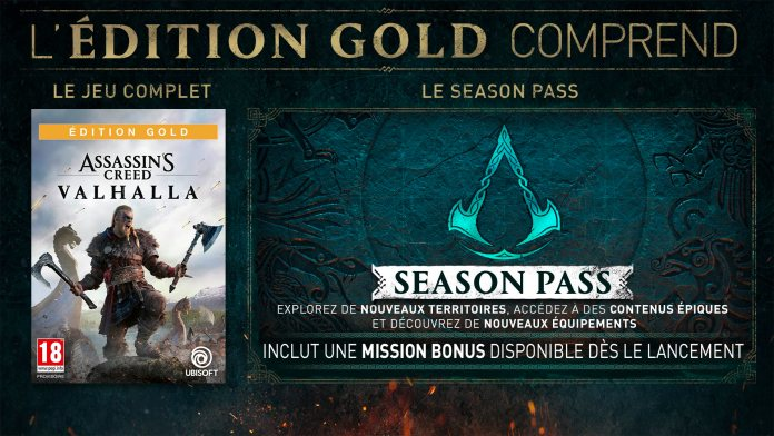 495115ea94921ed5098.90377817-ACV_pack_Announce_GOLD-EDITION_200430_5pm_CET_Paris-Time_FR Assassin's Creed Valhalla - Les éditions collector et spéciales