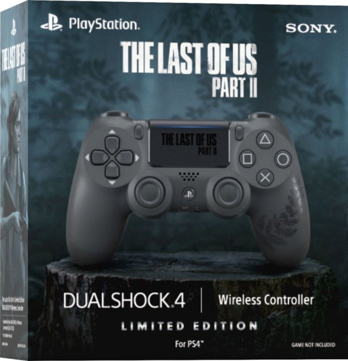 6414932sd_8637475 The Last of Us II - PS4 - Manette - Casque - Disque Dur   -Edition limitée