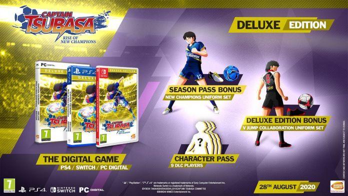 Captain-Tsubasa-RoNC Captain Tsubasa: Rise of New Champions - Les éditions collector - Sortie le 28 août