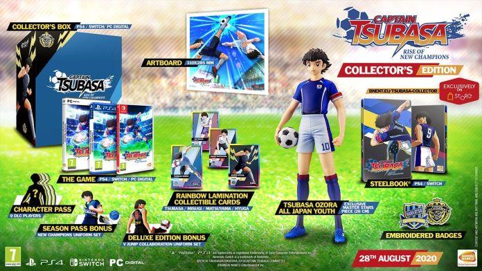 Captain-Tsubasa-RoNC_EU-Editions_05-26-20_002 Captain Tsubasa: Rise of New Champions - Les éditions collector - Sortie le 28 août