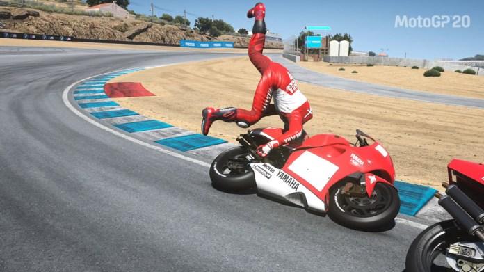 MotoGP20_chute Mon avis sur Moto GP20 - Wheeling power !