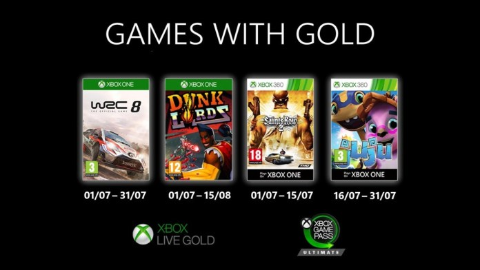 July_GWG_16x9_4UP_Points_ESRB_Pricing_JPG Games With Gold – les jeux de Juillet 2020