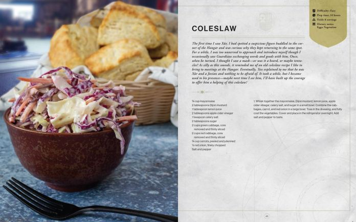 Coleslaw_1024x640 Bungie et Insight Editions préparent un livre de recettes Destiny