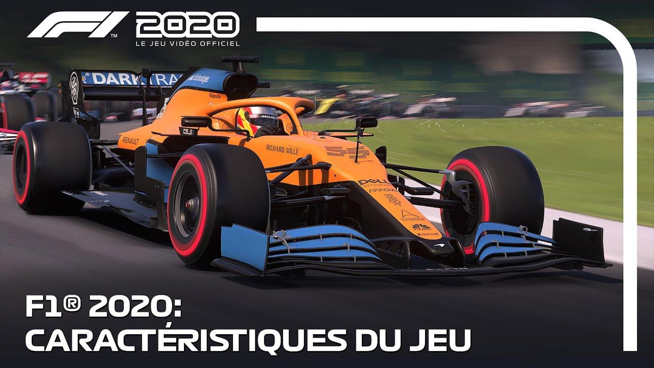 F1 2020 – Les nouvelles caractéristiques dans un trailer – Games & Geeks